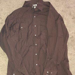 Western brown shirt